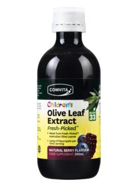Výtažek z listů olivy PRO DĚTI Comvita - letní ovoce, 200ml